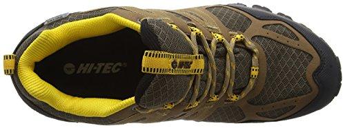 Hi-Tec Fugitive Waterproof, Zapatillas de Deporte Exterior para Hombre Marrón (Smokey Brown 042)