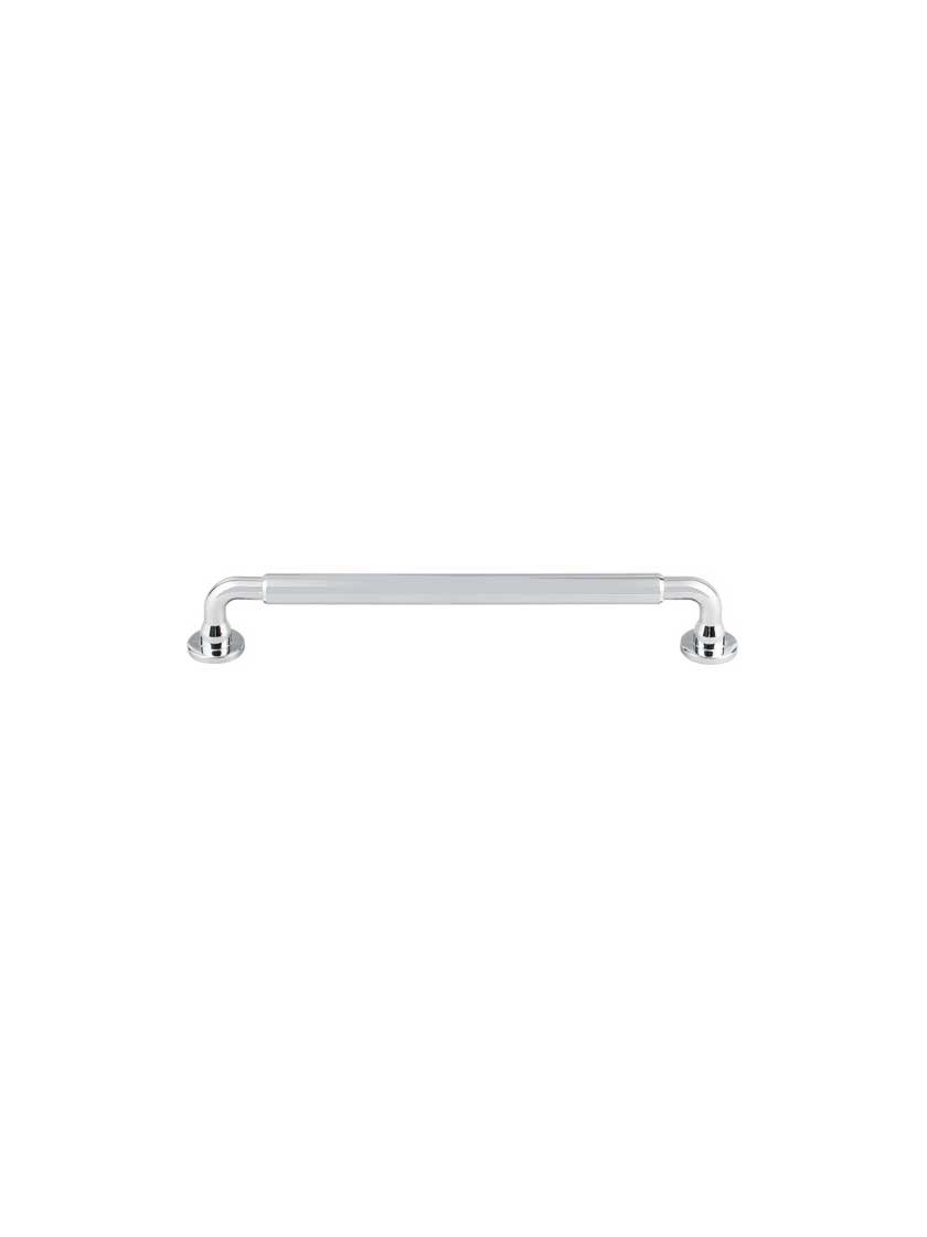 Top Knobs TK825PC Serene Collection 7-9/16'' Lily Pull, Polished Chrome