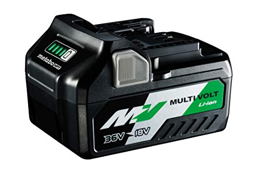 Metabo HPT MultiVolt Battery, 36V/18V, 2.5Ah/5.0Ah, Lithium Ion, Slide Style, (371751M)