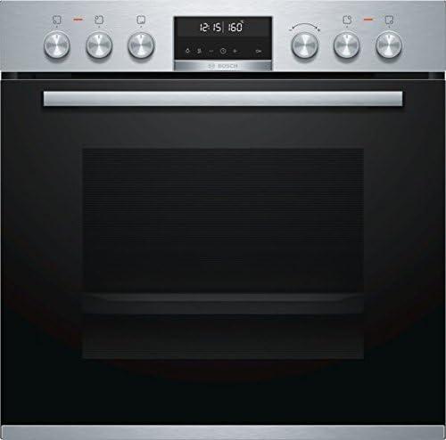 Bosch (HEB578BS1 + NXX675CB1E) - Electrodomésticos de cocina Horno de placa de inducción Aparato de cocina - Conjuntos de juegos (placa de inducción, vidrio y cerámica, negro, 3300 W, táctil, 60,6 cm): Amazon.es: Grandes electrodomésticos