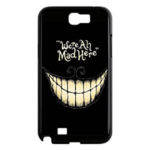 Samsung Galaxy N2 7100 Cell Phone Case Black_Mad Here Xxyia