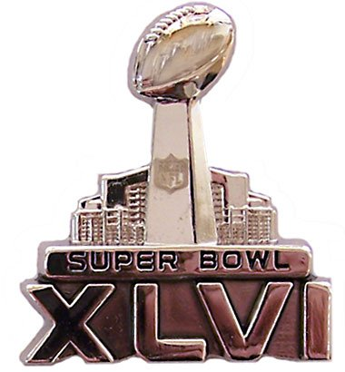 Super Bowl XLVI - B0071EWRBI (46) Official Logo (46) Pin - Sculpted 3-D B0071EWRBI, TAMAYA(玉屋):49f2eb6f --- hanjindnb.su