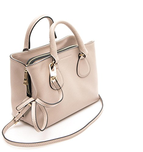 Borsa Donna Mini Bag Pelle Saffiano Seashell