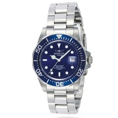 Invicta Men's Swiss Quartz Pro Diver Stainless Steel Bracelet Watch -  J110808-00006-00241