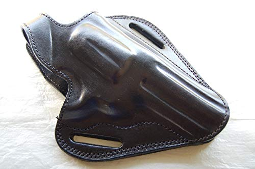 cal38 Leather Handcrafted Belt Holster for Smith Wesson Model 27, 357 Magnum 3.5,4