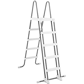 Intex deluxe pool ladder with removable steps - Removable swimming pool handrails ...