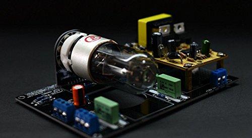 FidgetFidget Assembled DC12V Car 6N8P Vacuum Tube Preamp HiFi Stereo Pre-Amplifier Board