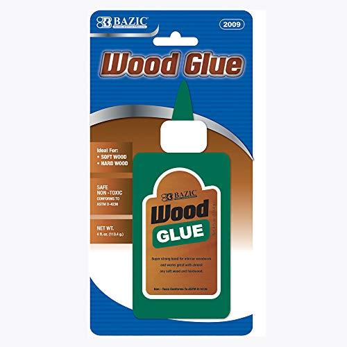 BAZIC 4 fl. oz. (118 mL) Wood Glue, 1-Pack