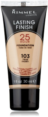Rimmel Lasting Finish 25 Hour Liquid Foundation True Ivory