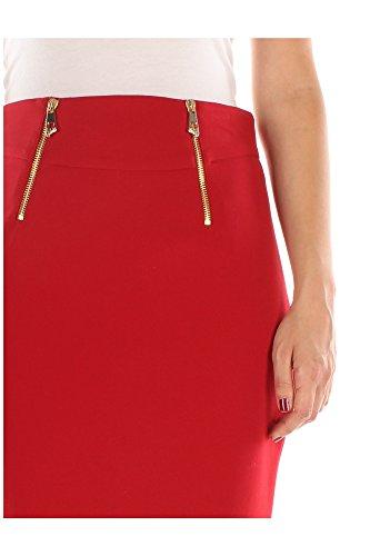 G33961G600556G1213 Versace Collection Faldas Mujer Poliéster Rojo Rojo