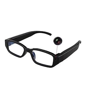 Glasses Camera -HD 1280×720P Hidden Camera Eyeglasses Hidden Eyewear Cam DVR Video Recorder DV Camcorder