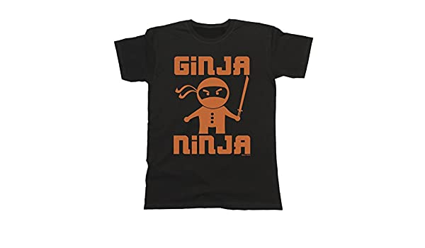 buzz shirts Hombres y Damas Ginja Ninja T-Shirt Mens Ladies ...