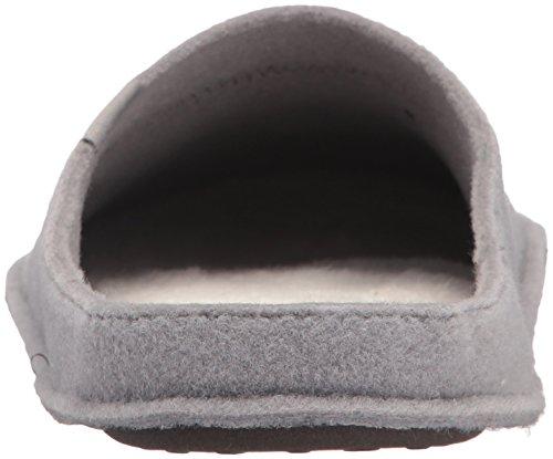 Crocs Classic Slipper-  Zuecos Unisex Adulto Grigio (Smoke/Oatmeal)