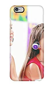 Iphone 6 Plus Case Cover - Slim Fit Tpu Protector Shock Absorbent Case (headphones)