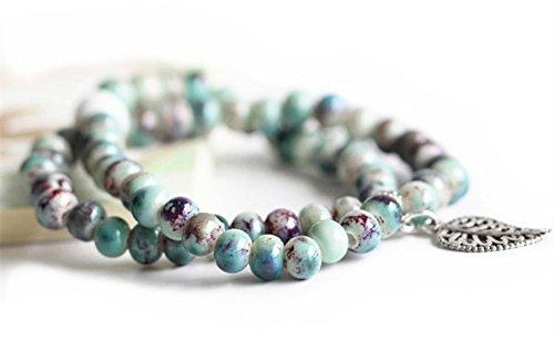 Porcelain Beads Bracelet - 8