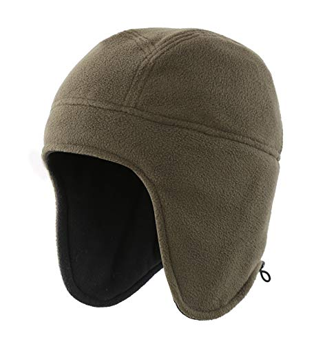 - Home Prefer Daily Beanie Hat for Men Women Warm Winter Hats Thick Knit Beanie Cap Army Green
