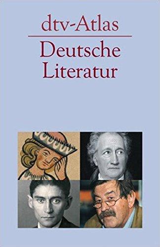 dtv - Atlas zur deutschen Literatur.