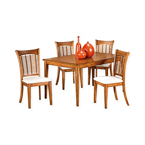 5-Piece Rectangular Dining Set in Oak