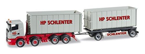 1/87 スカニアR コンテナトレーラー `Schlenter Aachen` 305044