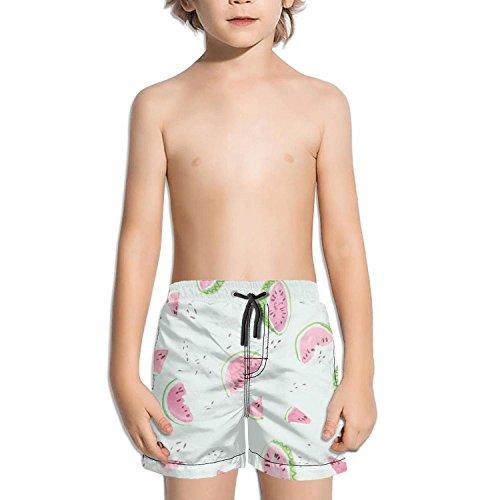 Lenard Hughes Boys Quick Dry Beach Shorts with Pockets Tropi