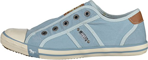 Mustang 1099-401 femmes Baskets lightBleu