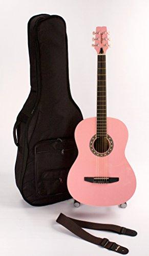 Pink Acoustic Guitar Set - 8