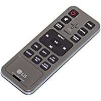 OEM LG Remote Control Originally Shipped With: LAS851M, LAS851