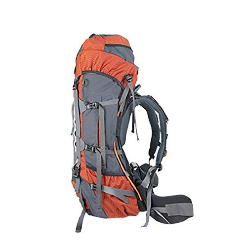 Xin.S70L De Gran Capacidad Al Aire Libre Paquete De Escalada Impermeable Viajes Deportes Senderismo Viajes Mochila Multi-funcional. 3 Colores Orange