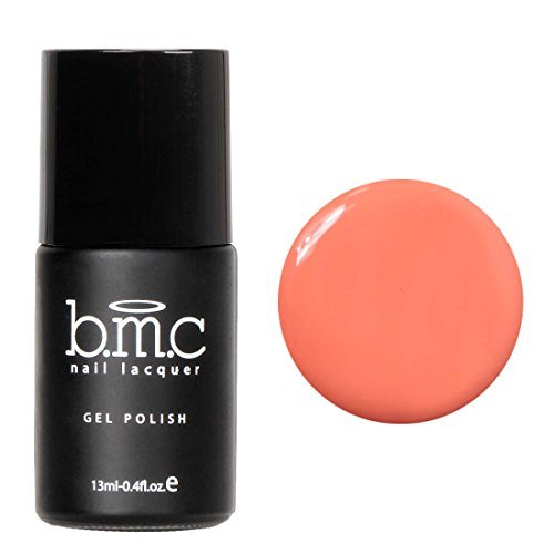 BMC Soft Orange Cream Colored Gel Nail Lacquers - Cali Dream