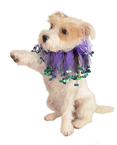 [Rubie's Bat Pet Collar, Large - Extra Large] (Bat Wings Dog Costume)