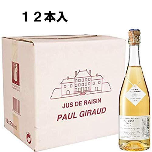 Paul Giraudポールジロー スパークリンググレープジュース 2018 750ml 12本 B07L2QTPKH