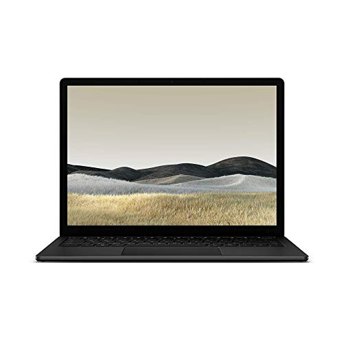 "Microsoft Surface Laptop 3 Ultra-Thin 13.5"" Touchscreen Laptop (Matte Black) – Intel 10th Gen Quad Core i7, 16GB RAM…"
