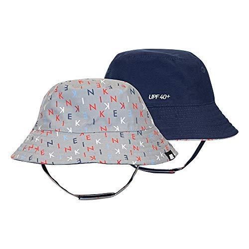 Nike Dry Infant/Toddler Girls' Bucket Hat (Obsidian(6A2721-G3X)/Grey, 2-4T) by Nike