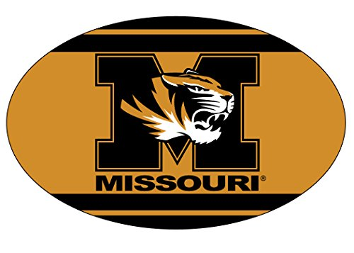 MISSOURI TIGERS OVAL STRIPE DESIGN MAGNET-MIZZOU MAGNET-NEW FOR 2016