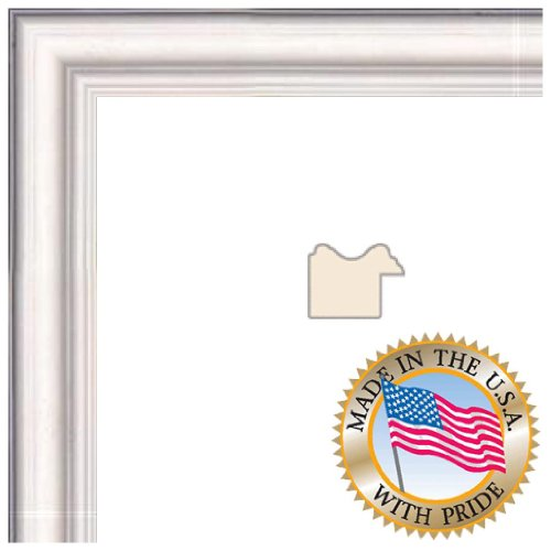 9x12 White Stain Picture Frame