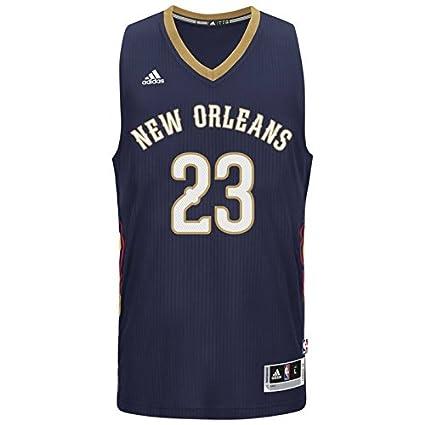 e46687c697fe Amazon.com   Anthony Davis New Orleans Pelicans Adidas Swingman Navy ...