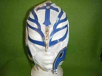 Blanco Rey Mysterio Máscara de Lucha WWE Disfraz Disfraz WWF Mexicano Infantil Lucha Libre Ropa Ropa