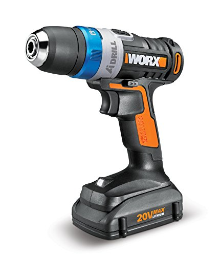 WORX WX178L 20V Max Advanced Intelligence Lithium-Ion Cordless LED Ai Drill