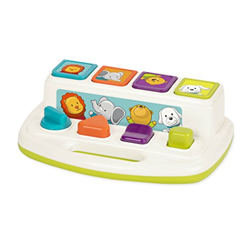 41 SfQNab8L - Battat Pop Up Pals Cause and Effect Learning Toy for Babies