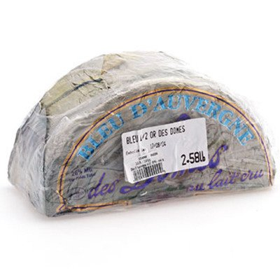 French Cow Milk Cheese, Bleu d'Auvergne - 1 lb