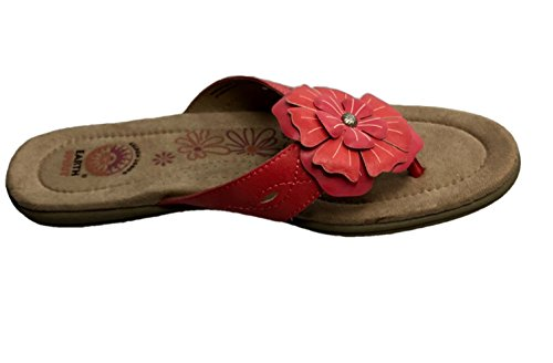 Earth Flower Sandal Flower Earth Sandal Spirit Spirit Coral Womens Womens 66qOwrp