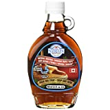 Steeves Maples - Sugar Free Natural Original Canadian Maple Taste Syrup in Glass Bottle (250ml Sugar Free)