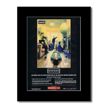 oasis definitely maybe poster - 3