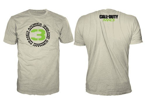 'call 3' 3 Duty Taille Sable Modern Countries T L Warfare shirt Of fwqnaB