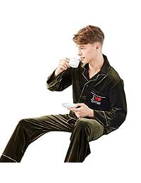 WL Pajamas Women's Pajama Long Sleeve Flannel Soft Solid Color Set Cozy Sleepwear