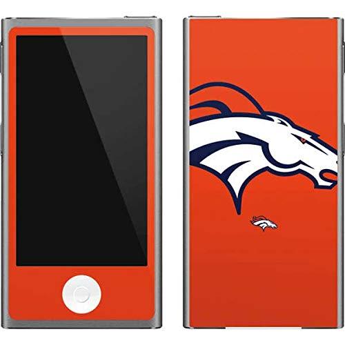Skinit NFL Denver Broncos iPod Nano (7th Gen&2012) Skin - Denver Broncos Large Logo Design - Ultra Thin, Lightweight Vinyl Decal Protection - Denver Broncos Nfl Nano