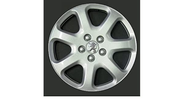 Wheeltrims Set de 4 embellecedores Peugeot 407/207 / 307/1007 / 4007 / Tepee con Llantas Originales de 16: Amazon.es: Coche y moto