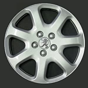Wheeltrims Set de 4 embellecedores Peugeot 407/207 / 307/1007 / 4007 / Tepee con Llantas Originales de 16''