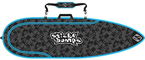 Sticky Bumps Single Thruster Surfboard Bag–5'