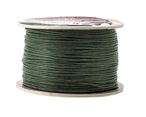 green waxed twine - 1